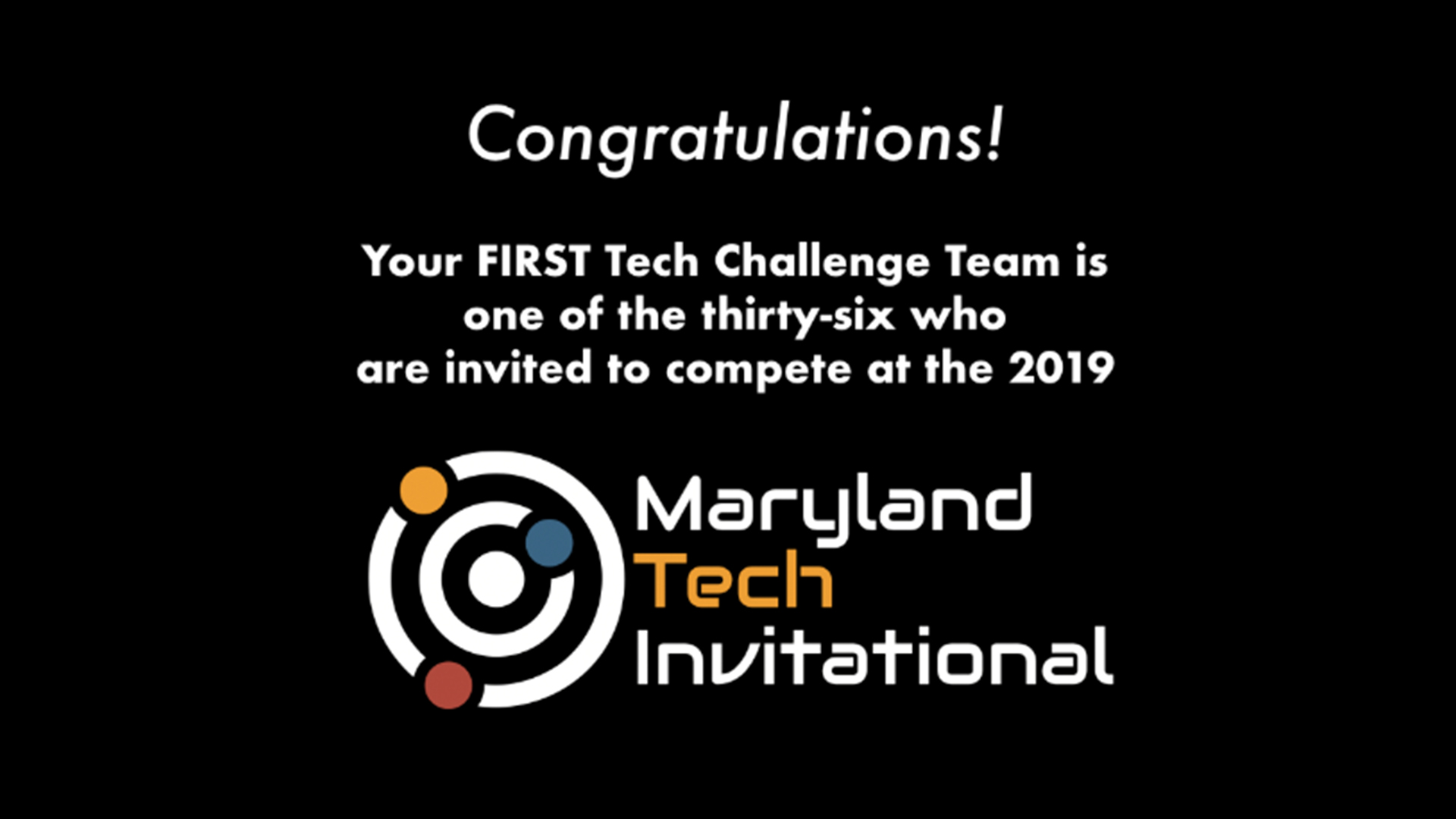 Maryland Tech Invitational